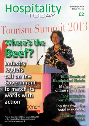 Hospitality Today #15, Jun/Jul 2013